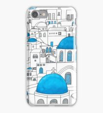 Santorini Blue and White Paradise iPhone Case/Skin