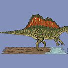 Spinosaurus by Richard Fay