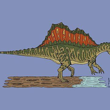 Spinosaurus by RHFay