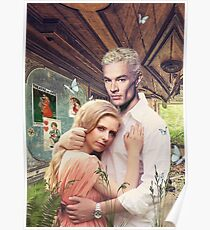 Buffy & Spike Poster
