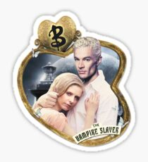 Buffy & Spike Sticker
