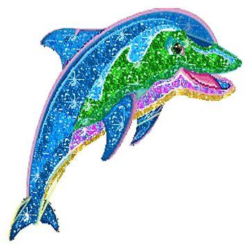 Dolphin glitter by tabasco666