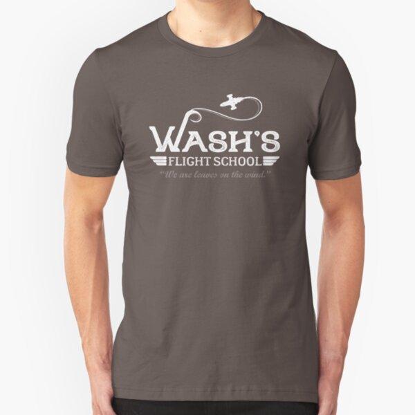 Wash's Flight School Slim Fit T-Shirt