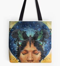Butterfly Kisses/Child of Diasporas Tote Bag