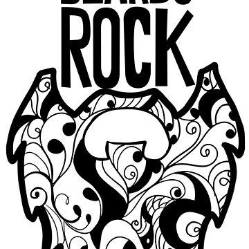 Beards Rock! by Tangldltd