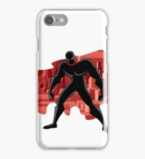 Superhero Abstract 2 iPhone Case/Skin