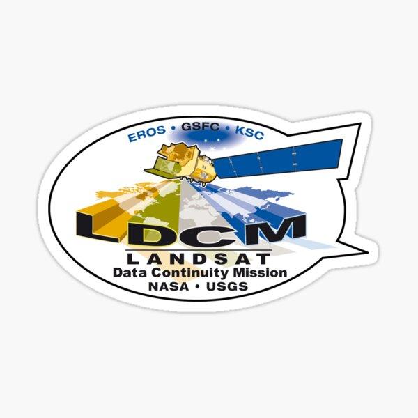 Landsat 8 - Data Continuity Mission Logo Sticker