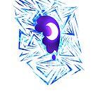 Shard of Nightmare Moon's Cutiemark Redone by Nightmarespoon