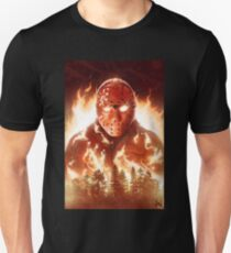 Jason In Flames Unisex T-Shirt