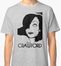 Joan Crawford Contrast Art Classic T-Shirt