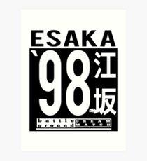 Esaka 98 Art Print