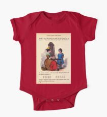 A Treasury of pleasure books for young people 1856 138 Little Goodey Two Shoes One Piece - Short Sleeve