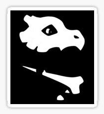 Minimalistic Cubone Sticker