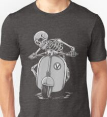 vespa skeleton  T-Shirt