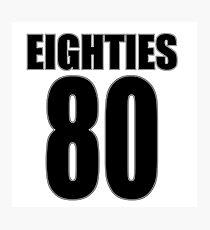 Eighties Photographic Print