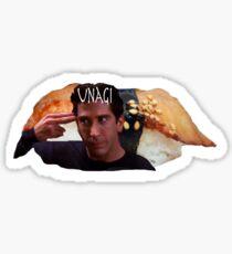 Unagi: Ross Geller Sticker