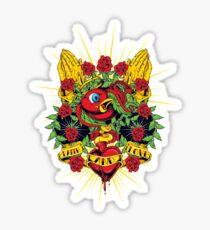 Faith And Love Sticker