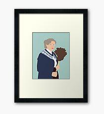 Doubtfire Framed Print