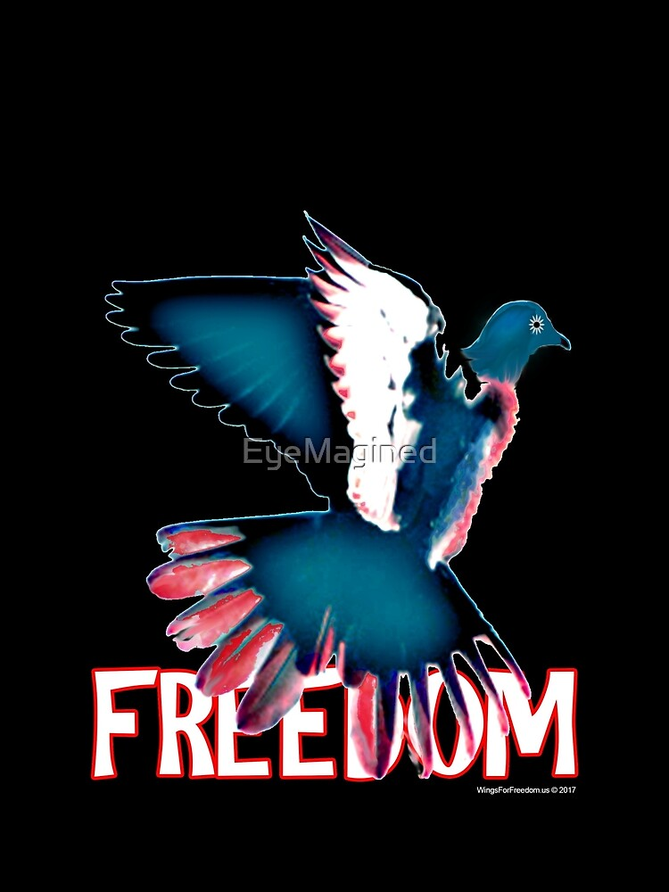 Freedom Dove by EyeMagined