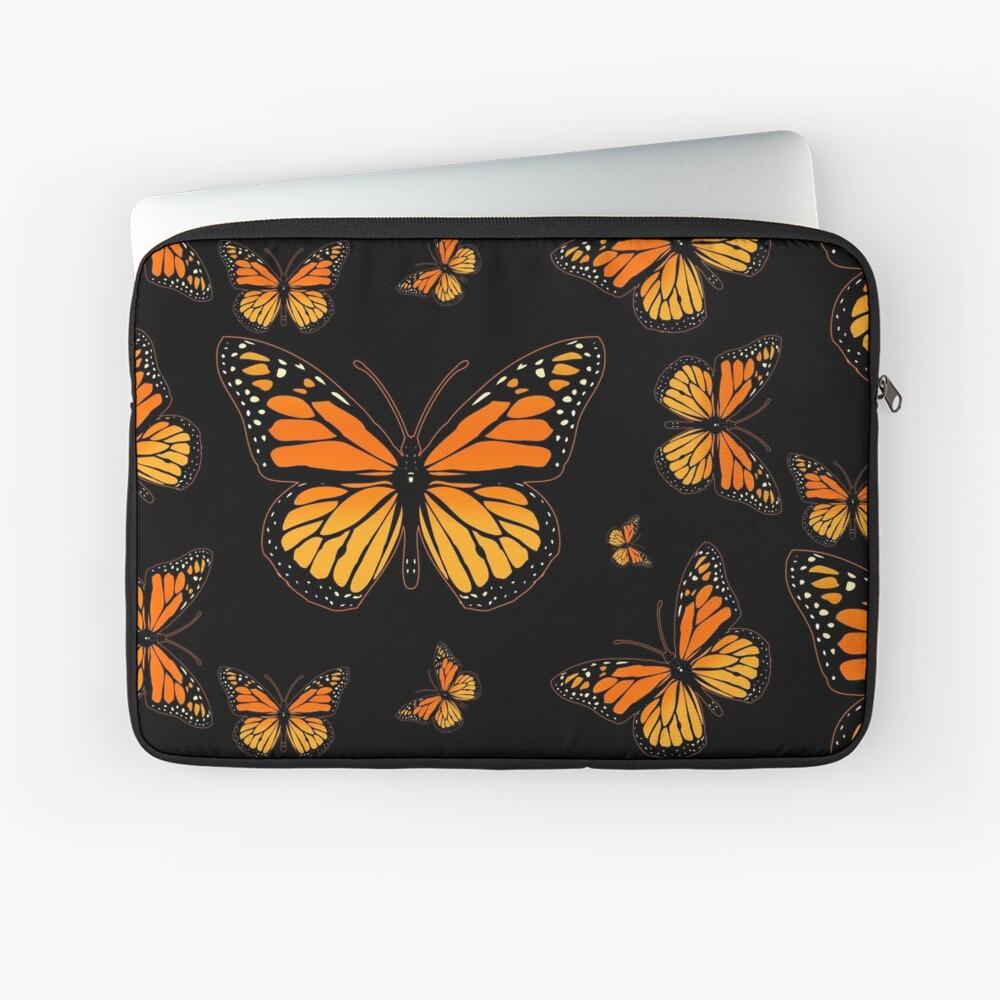 Monarch Butterfly Rapsody Laptop Sleeve