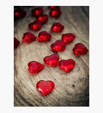 Love Hearts Photographic Print