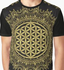 Flower Of Life Mandala Graphic T-Shirt