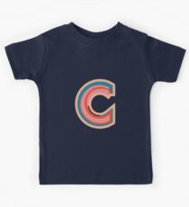 Chunky vibrant alphabet Kids Tee