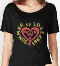 Summer of Love 1967 Heart Women's Relaxed Fit T-Shirt