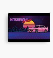 Mitsubishi EVO III Canvas Print