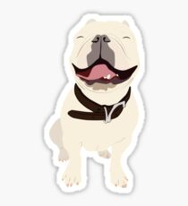 Vectored Frenchie Sticker