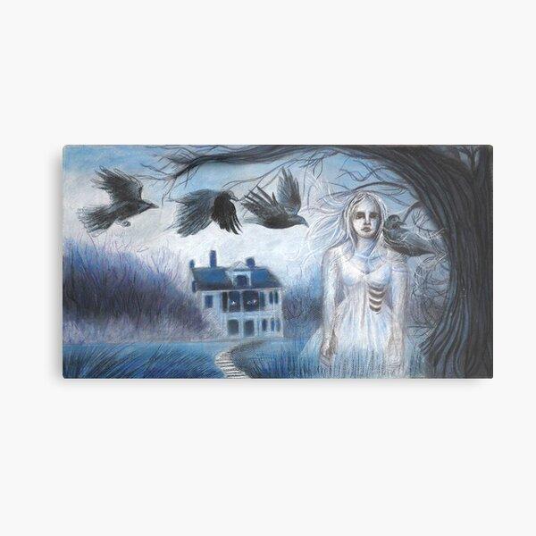 Ghost House Metal Print