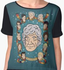 My Doctor is... The Third Doctor  Chiffon Top