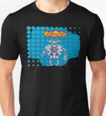 Pop art robot caught predator Unisex T-Shirt