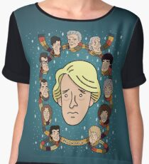 My Doctor is... The Fifth Doctor Chiffon Top