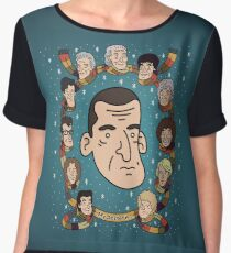 My Doctor is... The Ninth Doctor  Chiffon Top