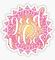 Good Vibes Mandala Sticker