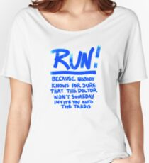 Invitation to the Tardis Women's Relaxed Fit T-Shirt