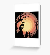The Deathly Hallows Greeting Card