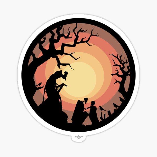 The Deathly Hallows Sticker