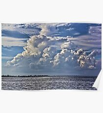 Afternoon Clouds Poster