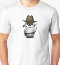Baby Penguin Zombie Hunter Unisex T-Shirt