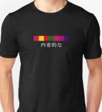 Pet Shop Boys Introspective Stripe Japanese Unisex T-Shirt