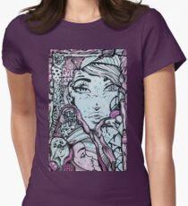 Street Art - Newtown Womens Fitted T-Shirt