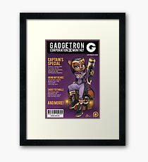 Gadgetron Monthly Framed Print