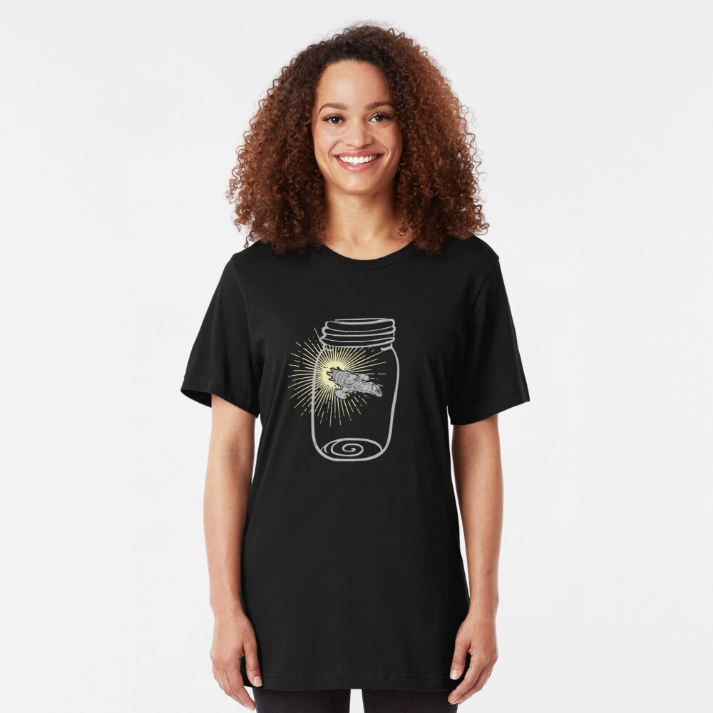 Firefly in a jar Slim Fit T-Shirt