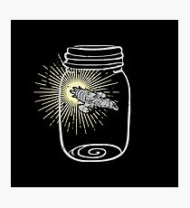 Firefly in a jar Photographic Print