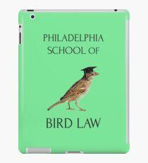 Philadelphia School of Bird Law iPad Case/Skin