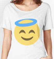 Smiling face with halo Women's Relaxed Fit T-Shirt