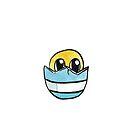 Küken im Ei von farbcafe