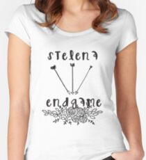 Stelena Endgame - The Vampire Diaries - The Originals Women's Fitted Scoop T-Shirt